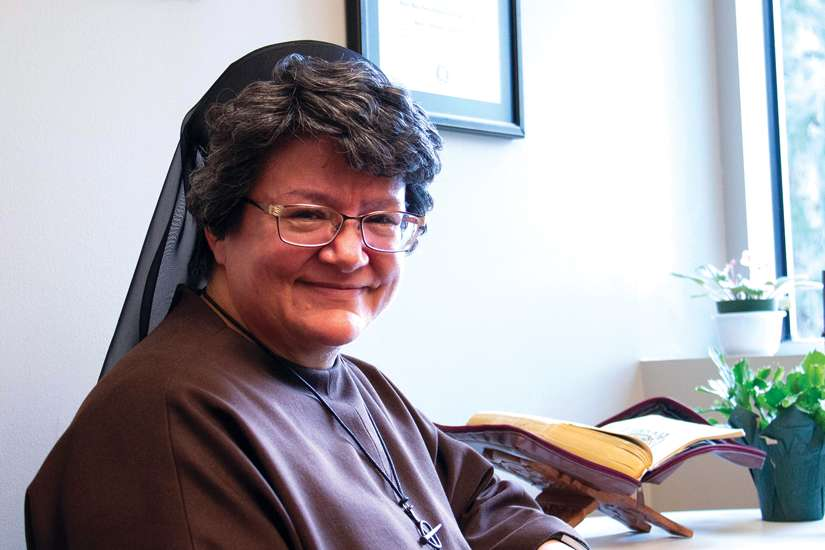 Sr. Maria Serra Garcia discovered her vocation on a slow, winding journey in which God showed His love and faithfulness.