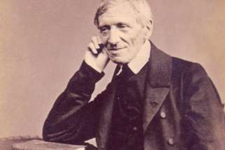 Blessed John Henry Newman is pictured in an 1865 photo. He will be made a saint on Oct. 13.