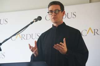 Fr. Deacon Andrew Bennett, now heads the Cardus Institute of Religious Freedom Launched officially May 9 in Ottawa.