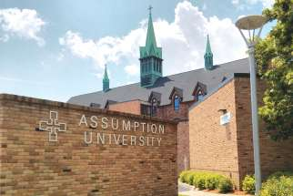 Assumption University in Windsor, Ont., has one of the most active campus ministries in the country.