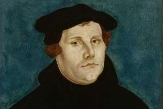 Portrait of Martin Luther by 16th-century German Renaissance painter Lucas Cranach the Elder. Later this year, Christians begin marking the 500th anniversary of the Reformation, traditionally dated from the October 1517 publication of Luther's 95 Theses, questioning the sale of indulgences and the Gospel foundations of papal authority.