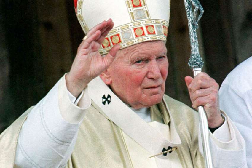 When Fr. Eamon Kelly was reprimanded by John Paul II, little did he know the Pope will be a future saint.