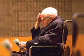 Jesuit Father Michael Lapierre will turn 100 May 2, and is taking it all in stride.