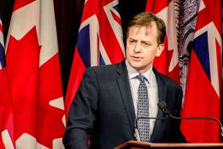 At a press conference held May 3, Conservative MPP Jeff Yurek announced that the Conservatives are prepared to introduce a private member's bill to protect conscience rights for doctors and health workers.