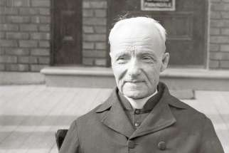 Br. André Bessette was the driving force in the building of St. Joseph's Oratory.