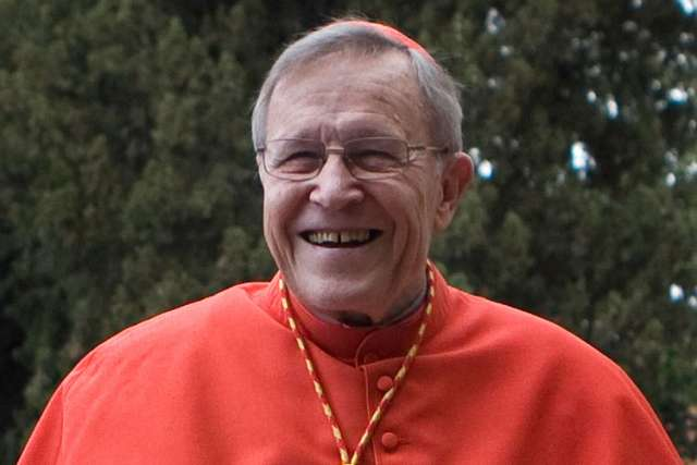 "German Cardinal Walter Kasper arrives at Rome's Church of St. Anselm in this March 5 file photo.Cardinal Kasper said fresh Vatican criticism of American nuns was typical of the ""narrower"" view that officials of the Roman Curia tend to take, and he said U.S. Catholics shouldn't be overly concerned."