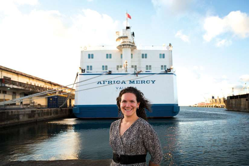 Marina Priolo spent two years on Africa Mercy as an human resources assistant.