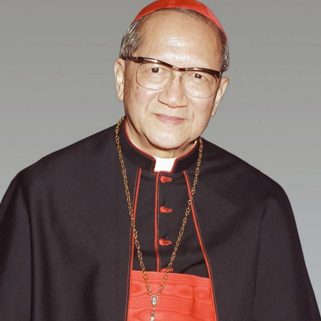 The late Cardinal Francois Xavier Nguyen Van Thuan's cause for sainthood was launched by the Diocese of Rome in 2010