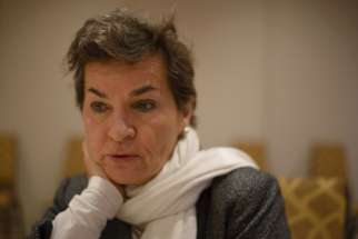 "Christiana Figueres, former executive secretary of the UN Framework Convention on Climate Change. ""Church institution divestments are very important. They don't add up to trillions, but they have a very important exemplary role,"" Figueres said."