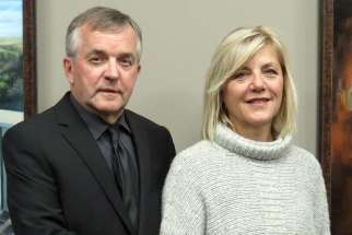 Phil and Mary Wrubleski Saskatoon, who chair the diocesan Marriage Task Force, are examining marriage mentoring, in which a younger couple is invited to meet monthly with a more-established couple trained to engage in helpful conversations about marriage, life and children.