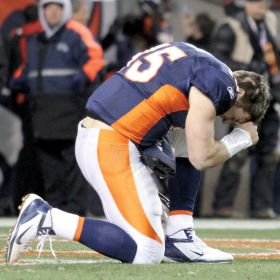 Denver Broncos quarterback Tim Tebowis one of the most outwardly religious athletes in North America.