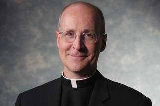 Fr. James Martin, an American Jesuit, author and media personality,