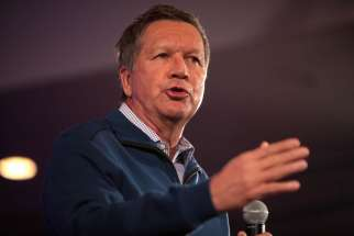 Ohio Govenor John Kasich signs a law that bans abortion after 20 weeks of pregnancy, but vetoed another bill that would have banned abortion once an unborn's heart beat can be detected.