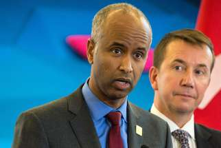 Canada's immigration minister Ahmed Hussen says his department is working closely with Canadian Sonsorship Agreement Holders to speed up the bureaucratic application process for refugee sponsors.