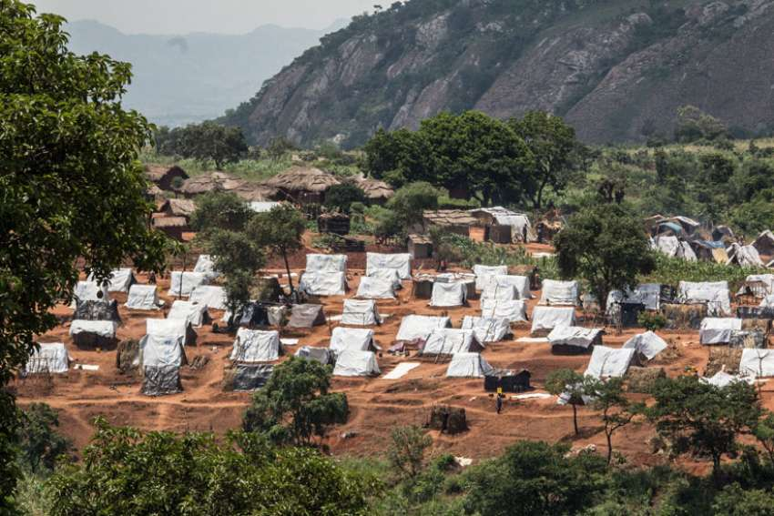A view of one to the residential areas in the refugee camp in Mwanza, Malawi, Feb. 8. Many of the organ harvesting that occurs in Mozambique targets refugees.