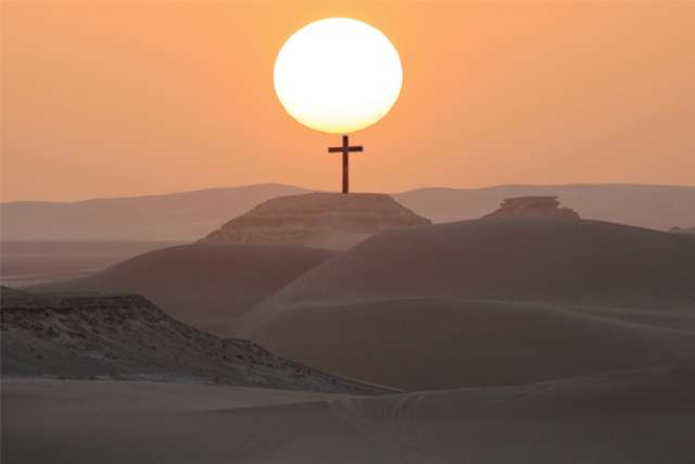 Come Lent, Catholics like to plan their own desert experience. But in this year of COVID, where we are already living in our own desert, it's an option that has been taken out of our hands.