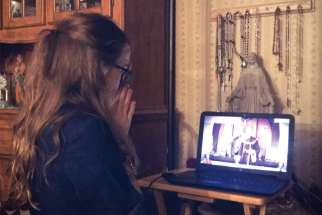 Sara Rose Smith of Custer County, Neb., is enriching her faith life during self-isolation by watching live-streamed church services.