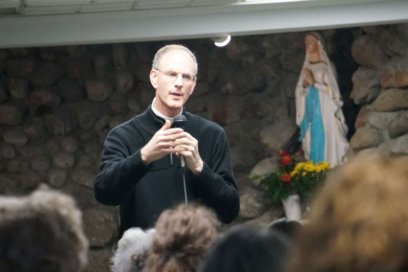 Fr. Timothy Gallagher, OSV, gave a retreat on Ignatian discernment to about 150 people in Ottawa Nov. 4