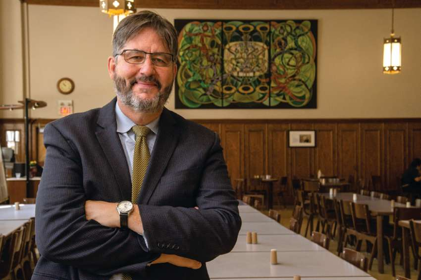 David Sylvester was appointed in June as the eighth president of St. Michael's College at the University of Toronto.