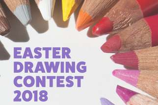 Easter Drawing Contest 2018 winners
