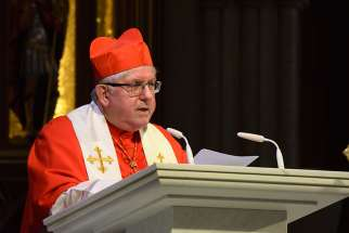 Cardinal Collins pleads for aid to Christian refugees