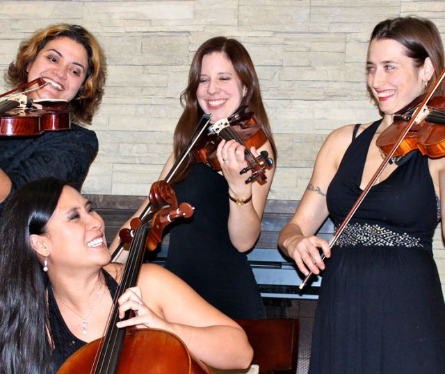 The Luna Quartet will be playing a benefit show Jan. 27 at Toronto's Scarboro Missions chapel.