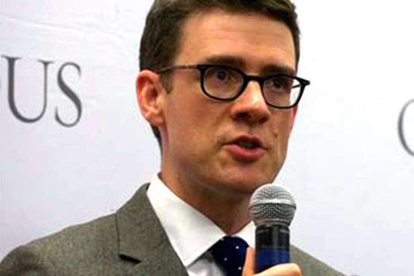 Andrew Bennett, director of the Cardus Religious Freedom Institute, pictured here in a 2017 file photo.