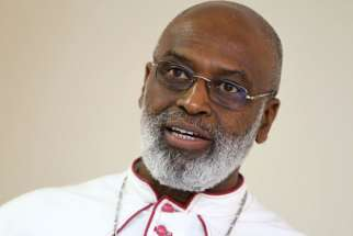 Archbishop Charles G. Palmer-Buckle of Accra, Ghana
