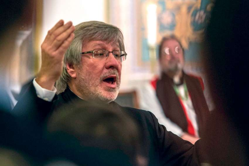 Dr. Jerzy Cichoki, a long-time conductor of St. Michael's Choir School, was fired.