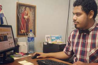 Israel Gonzalez Espinoza, 25, a journalist who writes from Managua, Nicaragua, for Religion Digital, a Spanish-language online news site that focuses on the Catholic Church, said many young Catholic Nicaraguans will make sacrifices to attend the upcoming World Youth Day in Panama Jan. 22-27.