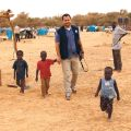 Ryan Worms, at a refugee camp in Niger, intend to fast for the 40 days of Lent in solidarity with the poor and hungry in the Global South.