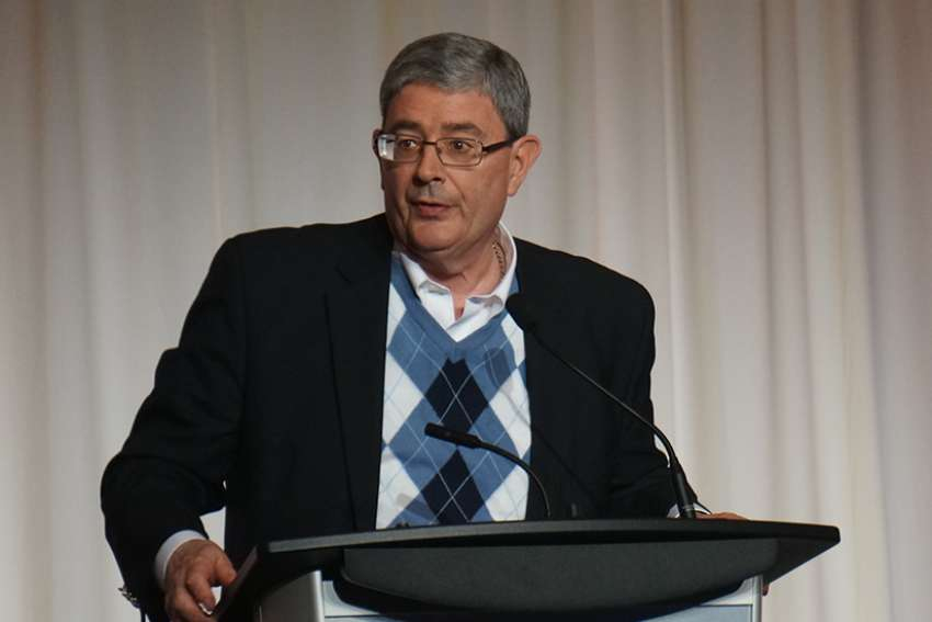 George Weigel at the New Evangelization Summit in Ottawa.