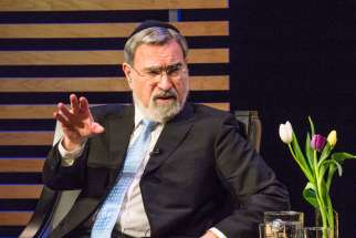 Rabbi Jonathan Sacks urged religious people not to allow the debate about religion and violence to be dominated by people who don't understand religion March 15.