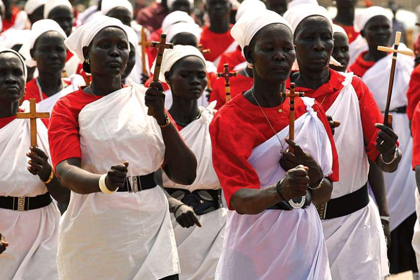 Africa represents 17 per cent of the world's total Catholic population of 1.272 billion, up from 13.8 per cent in 2005. Between 2005-14, the continent's Catholic population grew by 41 per cent, compared to a 24-per-cent increase in its overall population.