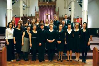 The CHRISTUS ensemble that tells Christ's story through classical music.