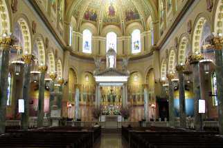 New York police are looking for a man that threatened to kill a nun at Brooklyn's Co-Cathedral of St. Joseph June 5.