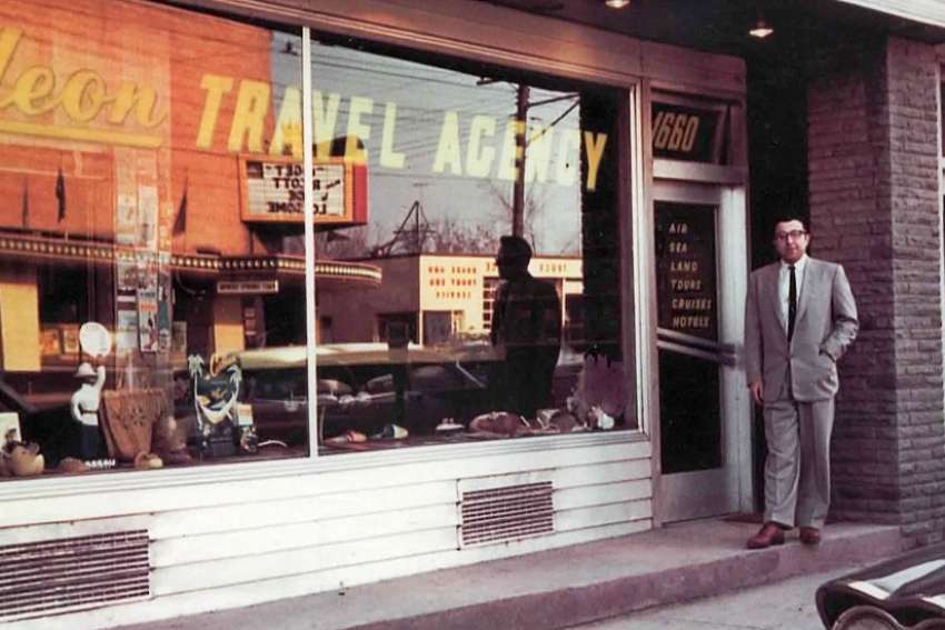 Gideon Travel is another victim of the pandemic, announcing that it will be closing its doors for good after 61 years in business. Founder Joseph Gideon, seen outside the storefront office in Toronto pioneered the charter business in the 1960s.