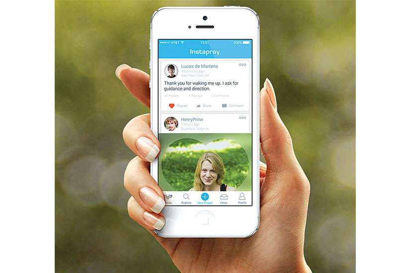 Instapray is a social networking app that allows users to share their prayer intentions with users from 195 countries across the world.
