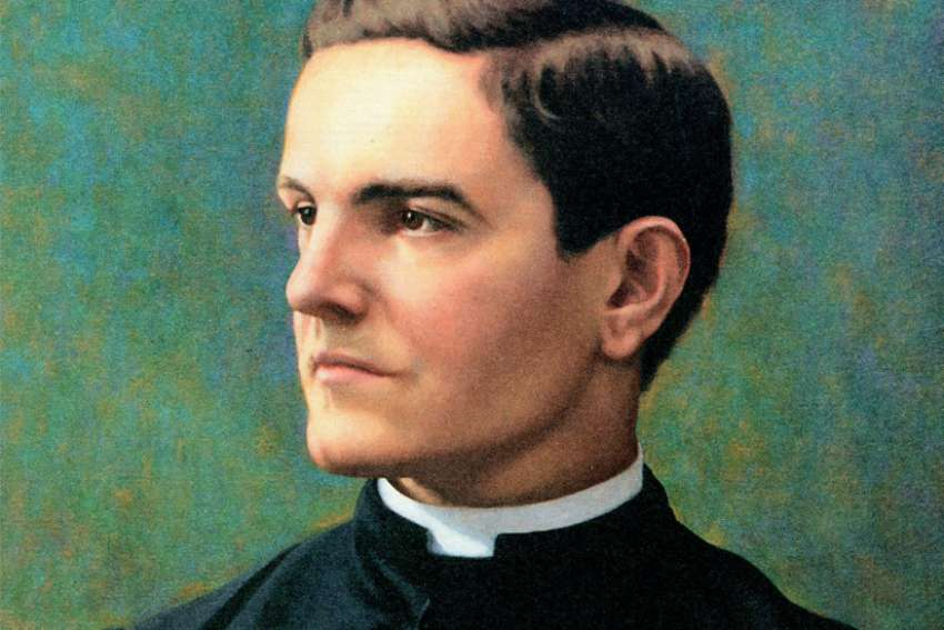 The beatification ceremony for Father Michael McGivney, founder of the Knights of Columbus, will be celebrated Oct. 31, 2020, in the Archdiocese of Hartford, Conn. Father McGivney is pictured in an undated portrait. On May 27 the Vatican announced Pope Francis had approved a miracle attributed to the priest's intercession, clearing the way for his beatification.