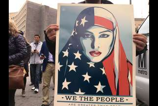 "Artist Shepard Fairey, who created the 2008 ""Hope"" poster of Barack Obama, has produced a new set of images in time for Donald Trump's inauguration."