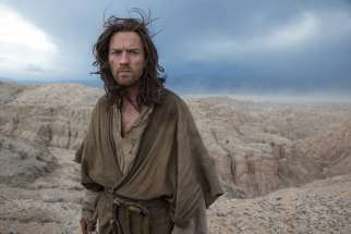 Ewan McGregor in a scene from Last Days in the Desert.