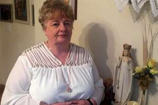 Marion Carroll, whose unexplained 1989 cure has been formally recognized as a miracle at Ireland's Marian shrine in Knock, is pictured in this Sept. 2 photo.