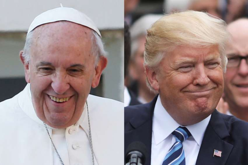 Donald Trump will be meeting Pope Francis at the Vatican May 24 as part of his first foreign trip as U.S. President.