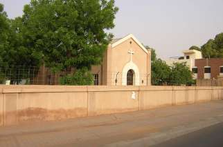 The Sisters' Catholic School in Khartoum, Sudan, pictured here from 2009, is attended by both Christians and Muslims.