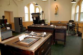 The Sisters of Providence of St. Vincent de Paul ran a printing operation in Kingston for over 90 years and turned it into a museum after closing it in 1989.