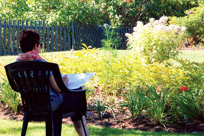 A unique retreat at Loretto Maryholme offers writers a time and place where they can concentrate on their craft.