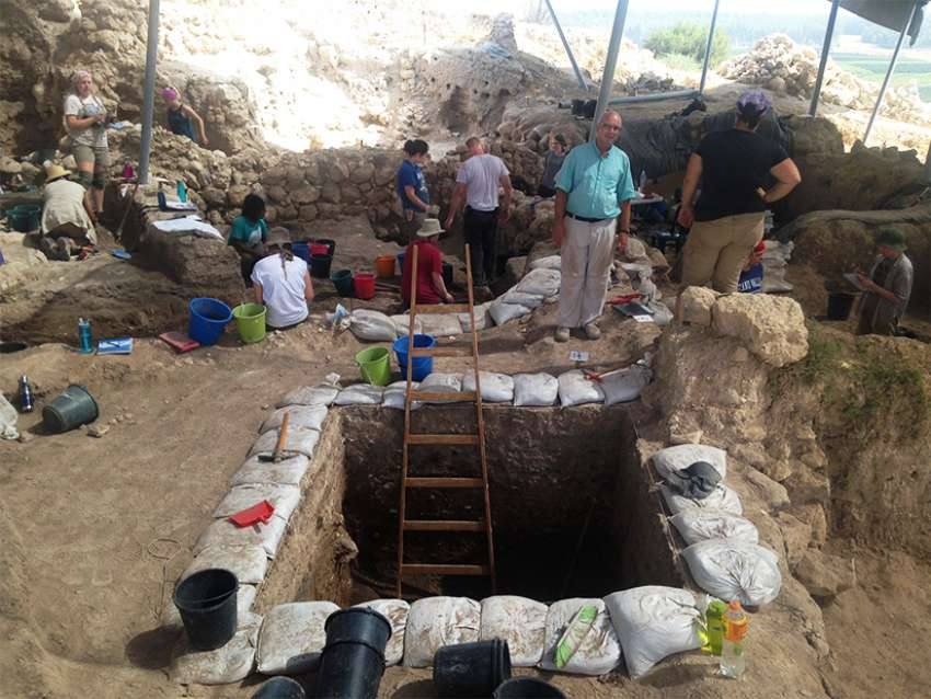 The Biblical Archaeology Laboratory at St. Paul's College, part of the University of Manitoba, is a partner with Bar-Ilan University in Tel Aviv in the excavation of the ancient city of Gath, the birthplace of the menacing giant from the David and Goliath story.