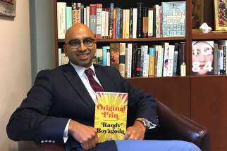 Randy Boyagoda's Original Prin is one of four great reads Fr. de Souza recommends this season.