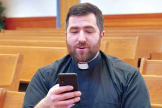 Fr. Nick Meisl has a YouTube home at #askfrnick.