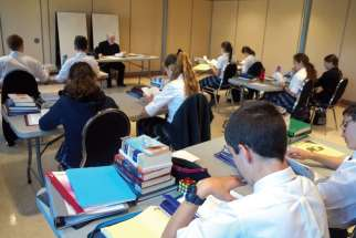 Fr. Doug Hayman teaches theology at the new Chesterton Academy in Ottawa.